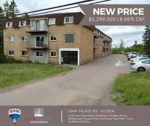 Apartment Building For Sale - 24 Units in Truro NS