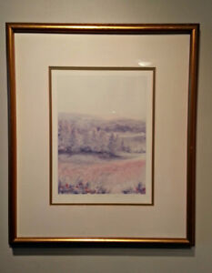 Watercolour by Susan E. Hall Signed  21  x 17.5 Inches