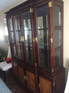 Solid Wood Breakfront for Sale *MUST GO*
