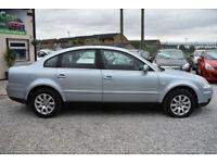 Volkswagen Passat 1.9TDI SE130 BLUE SALOON 2004 MODEL + STUNNING EXAMPLE+