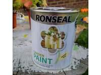 Ronseal garden furniture paint, unopened.
