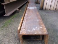 [ <- Shape Beam For Sale (Reinforced Steel Joint) Only £35 *Roughly 11.5 feet*