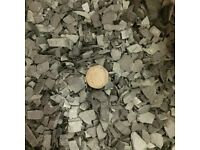 25 kg bags of spanish slate chippings for landscaping, paths, garden mulsh