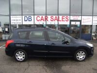2010 10 PEUGEOT 308 1.6 SW S HDI 5d 89 BHP***GUARANTEED FINANCE***PART EX WELCOME***