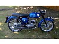 BSA BANTAM D14 WITH D7 ENGINE,1968,HAS A V5, PROJECT,NO SPARK,