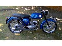 BSA BANTAM D14 WITH D7 ENGINE,1968,HAS A V5, PROJECT,NO SPARK,