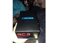 Boss Rc3 loop station/pedal...the same model used by Ed Sheeran and many others (brand new)
