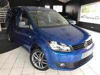 Volkswagen Caddy Maxi C20 Tdi Kombi Van With Side Windows 1.6 Semi Auto Diesel