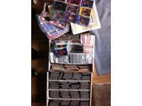 American star baseball/basketball collector cards , huge lot