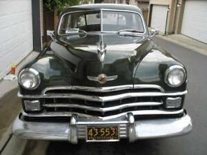 1950 CHRYSLER WINDSOR DELUXE 45,OOO ORG MILE $4700 FIRM OR TRADE