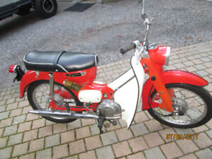THIS IS A reliable M31 SUZUKI 55cc automatic OLD SHED FIND !!!