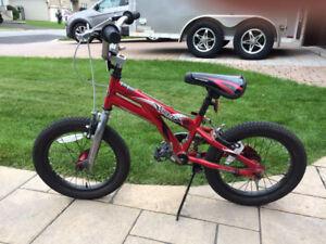 """Boy's 16"""" bicycle; Schwinn"""