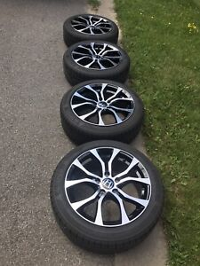 "Rims and tires, wheels Honda civic 2006 and up 17"" direct fit"