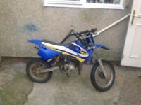 50cc rev and go kids motorbike