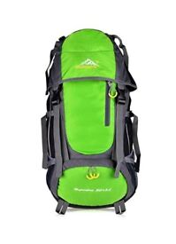 Hiking, outdoor, camping backpack 55L