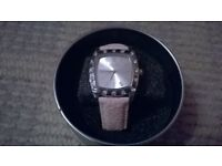 Ladies pink GLO watch BRAND NEW IN BOX