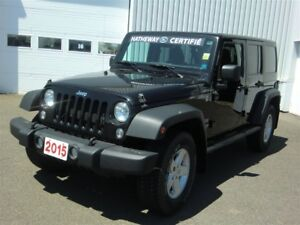 2015 Jeep WRANGLER UNLIMITED Sport - GREAT OFFROAD AND LOW MILEA