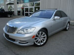 2012 Mercedes-Benz S-Class S 550 4MATIC ONE OWNER NO ACCIDENTS