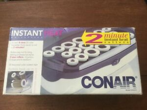 One Set Of Brand New Conair Instant Heat Curling Irons