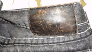 Gently worn True Religion jeans, hoodies, t-shirts etc.