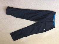 Two pairs Craghoppers Terrain trousers black size10