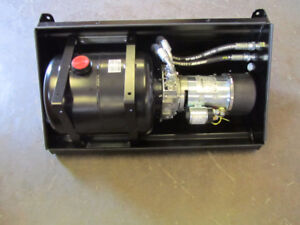 FASSI Micro Hydraulic Pump Unit 12V, 2000rpm, 1500W