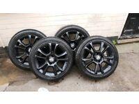 "Vauxhall Corsa D 16"" Sxi alloys with very good tyres"