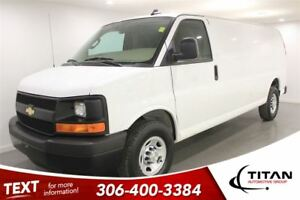 2017 Chevrolet Express 2500 Cargo|Auto|White|Local