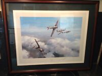 First Edition Print Signed by Wing Commander