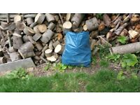 Unseasoned hard and soft wood logs for sale