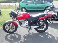 2012 Lexmoto Street 125cc 12 months MOT