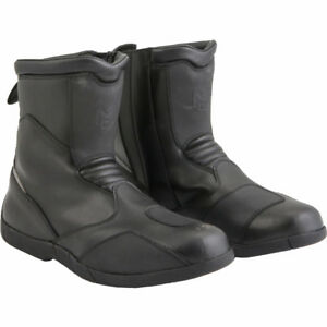 Motorcycle Boots - Size 12 (Black)