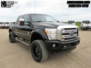 2015 Ford F-350 Super Duty Platinum  - Navigation -  Leather Sea