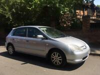 2002 Honda Civic 1.6 12 Months Mot 2 Keys Reliable Car