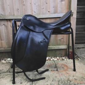 Keiffer dressage saddle black