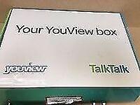 Brand new Talk Talk Youview Box