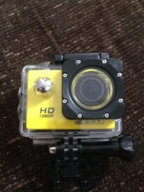 Action Camera Full HD wifi and case