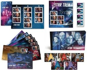 2017 Canada Post Star Trek Year 2 Stamps, Postcards & First Day