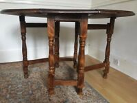 Dining Table - folding real wood £20