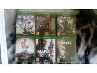 Xbox one games (swap)
