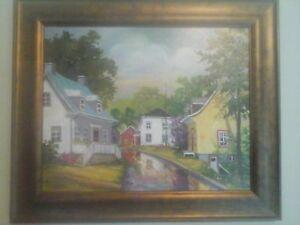 peinture reproduction  Denise bedar