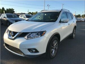 Nissan Rogue SL AWD Navigation Cuir Toit Panoramique MAGS 2015