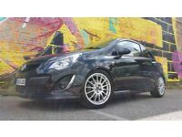 2012 VAUXHALL CORSA 1.4 TURBO LIMITED LTD BLACK EDITION 29800 MILES ONLY 1 FORMER OWNER FULL HISTORY
