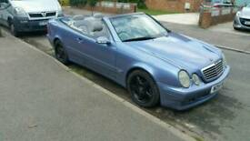 Clk320 convertible mercedes badged as a brabus possible swap for a boat