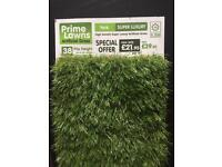 Artificial grass for small surface area