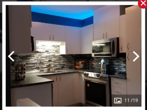 4 1/2  furnished high quality brand new appliances