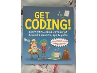 Get Coding HTML, CSS and Javascript Book - Brand New