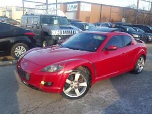 2005 MAZDA RX-8 GT  AUTOMATIC FULLY LOADED LEATHER SUNROOF