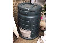 Compost bin green