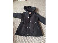 Girls age 7/8 school coat